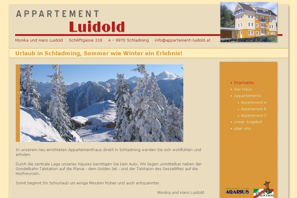 Screenshot appartement-luidold.at