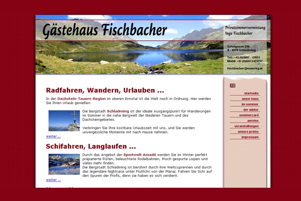 Screenshot fischbacher-schladming.at