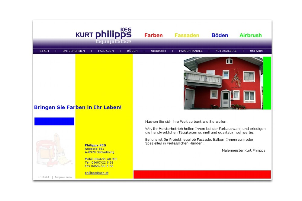 Screenshot maler-philipps.at