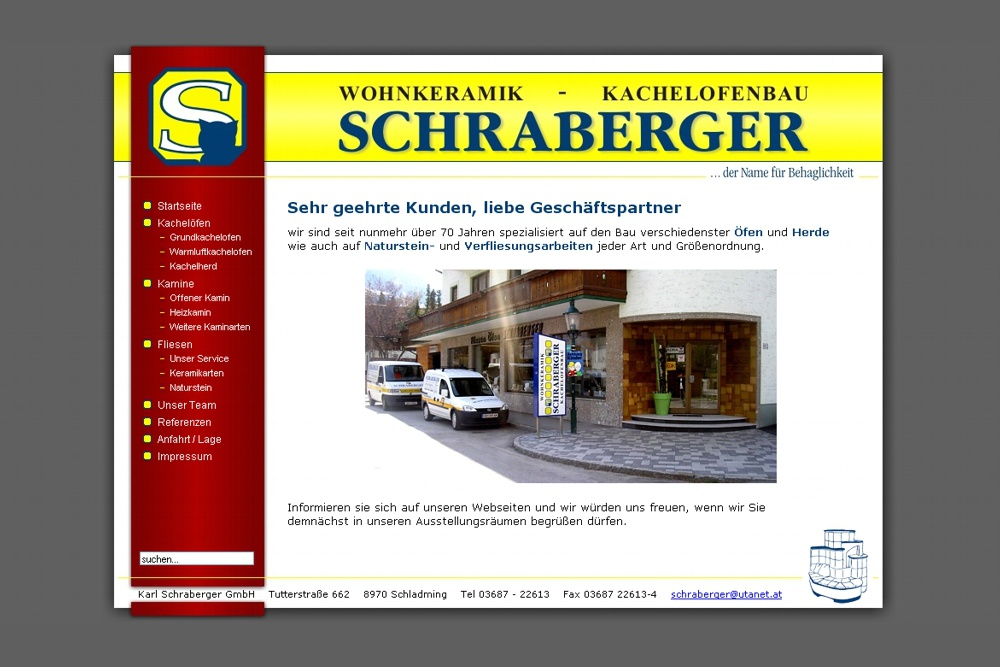 Screenshot schraberger.at