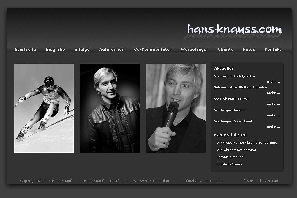 Screenshot hans-knauss.com