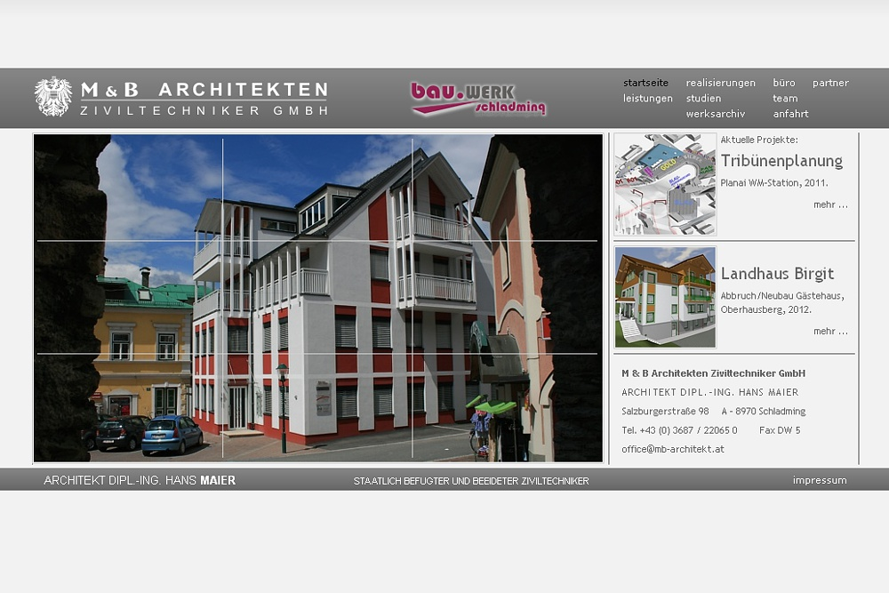 Screenshot mb-architekt.at