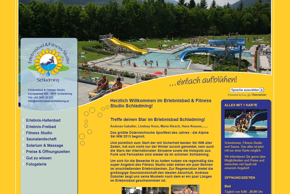 Screenshot erlebnisbad-schladming.at