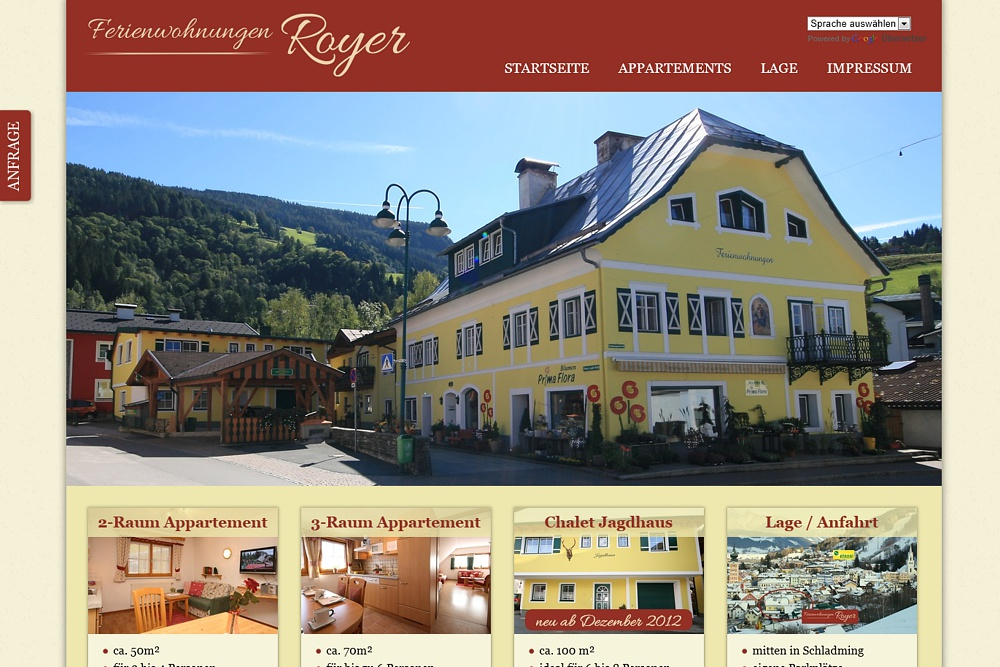 Screenshot royer-schladming.at
