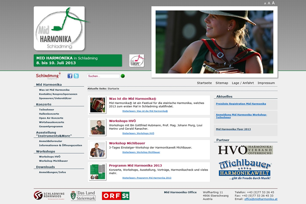 Screenshot midharmonika.at