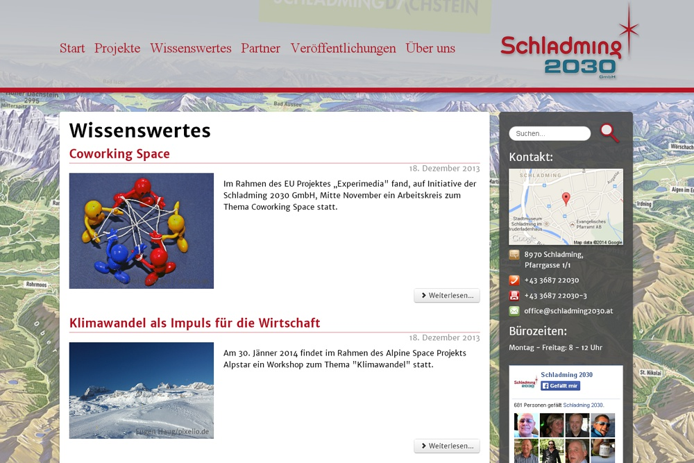 Screenshot schladming2030.at