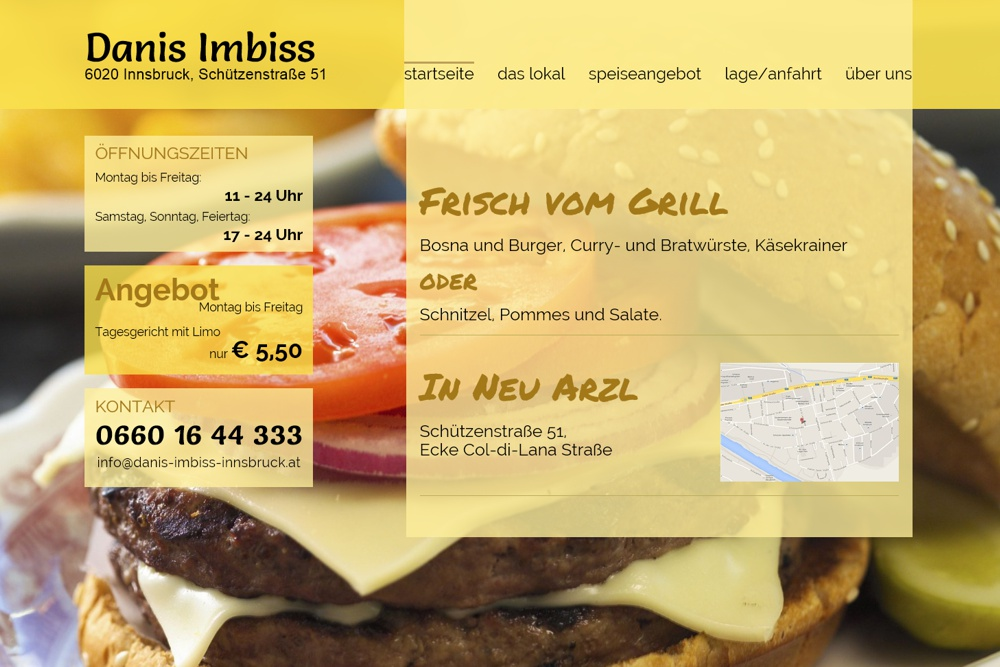 Screenshot danis-imbiss-innsbruck.at