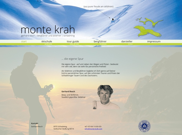 Screenshot monte-krah.com